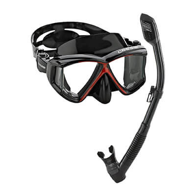 Cressi Panoramic Snorkel Set