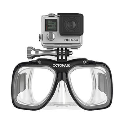 Octomask GoPro Diving Mask