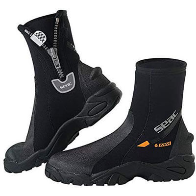 Seac 6mm Hard Sole Dive Boots