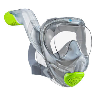 WildHorn Outfitters Seaview 180° V2 Full Face Snorkel Mask with FLOWTECH Advanced Breathing System - Overall Best Full face Snorkel Mask